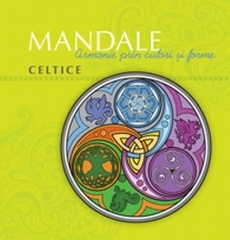 Mandale celtice - carte de colorat
