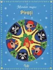 Pirati - carte de colorat